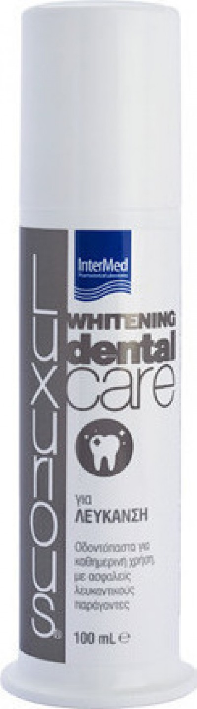 INTERMED LUXURIOUS DENTAL CARE WHITENING 100ML