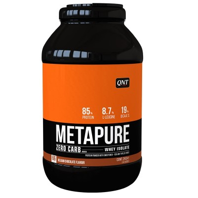 QNT Metapure Zero Carb Whey Isolate Protein Strawberry and Banana 908gr