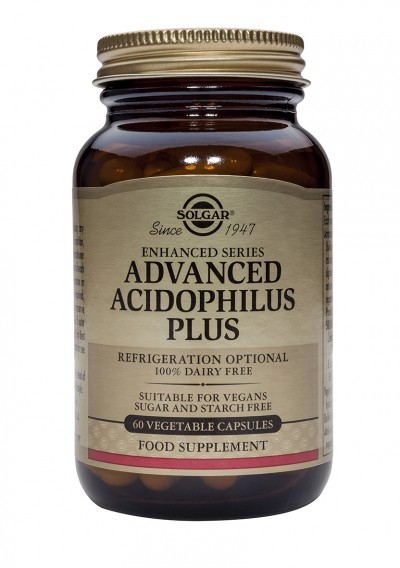 SOLGAR ADVANCED ACIDOPHILUS PLUS 60 ΦΥΤΙΚΕΣ ΚΑΨΟΥΛΕΣ