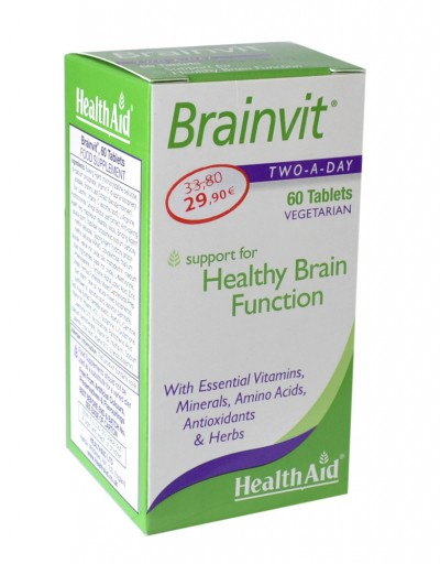 HEALTH AID BRAINVIT 60TABS
