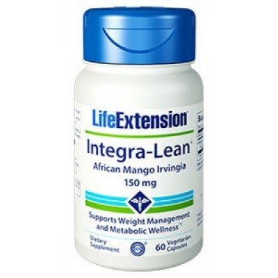 LIFE EXTENSION INTEGRA LEAN IRVIGNIA 150MG 60 CAPS