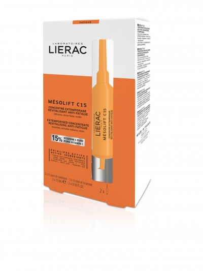 LIERAC MESOLIFT EXTEMPORISED CONCENTRATE REVITALISING ANTI FATIGUE 2*15ml