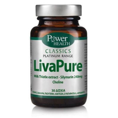 POWER HEALTH CLASSICS PLATINUM LIVAPURE 30s TABS