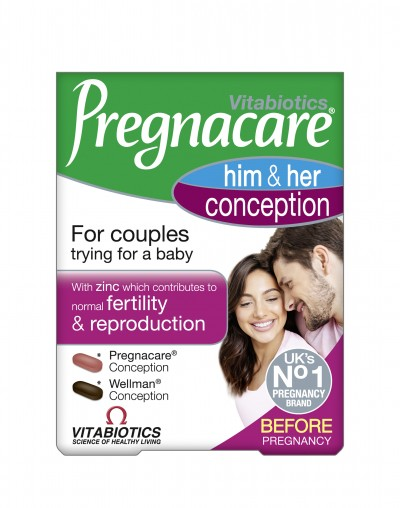 VITABIOTICS PREGNACARE HIS & HERS CONCEPTION 60 ΤΑΜΠΛΕΤΕΣ
