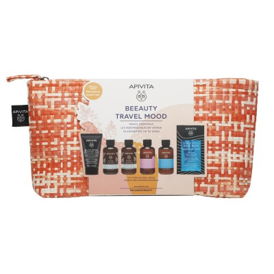 APIVITA PROMO PACK BEEAUTY TRAVEL MOOD TRAVEL ESSENTIALS