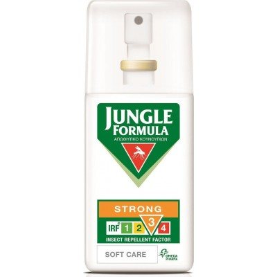 OMEGA PHARMA JUNGLE FORMULA STRONG SOFT CARE ΜΕ IRF 3 SPRAY ΕΝΤΟΜΟΑΠΩΘΗΤΙΚΟ ΣΠΡΑΥ 75ml