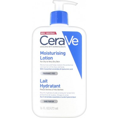 CERAVE MOISTURISING LOTION FOR DRY TO VERY DRY SKIN 473ml