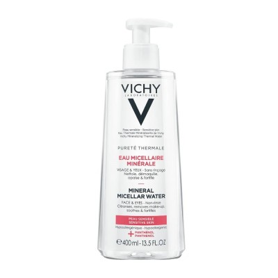 VICHY PURETE THERMALE MINERAL MICELLAR WATER 400ml - SENSITIVE SKIN