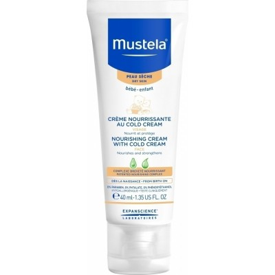 MUSTELA NOURISHING CREAM WITH COLD CREAM 40ML