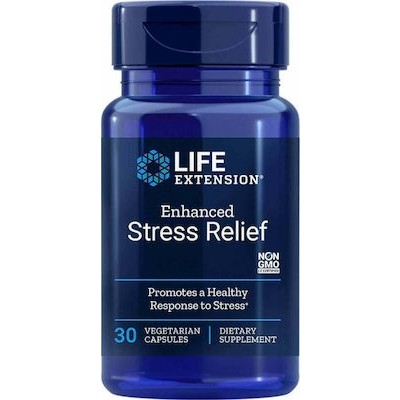 LIFE EXTENSION NATURAL STRESS RELIEF FORMULA 30