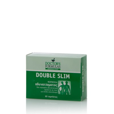DOCTOR'S FORMULAS DOUBLE SLIM 60 ΔΙΣΚΙΑ