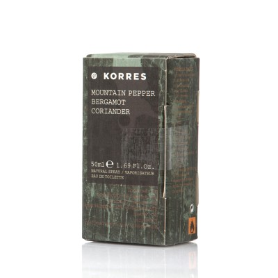 KORRES FRAGR.MEN MOUNTAIN PEPPER 50ML