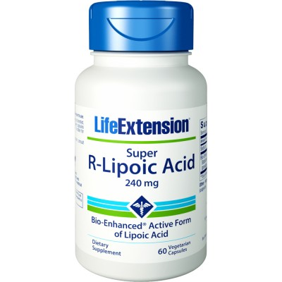 LIFE EXTENSION SUPER R-LIPOIC ACID 60VEG. CAPS