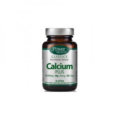 POWER HEALTH - CLASSICS PLATINUM RANGE CALCIUM PLUS - 30TABS