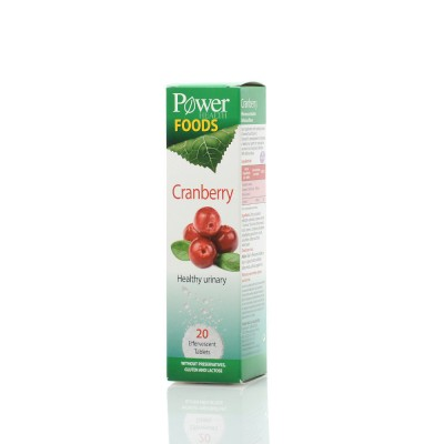 POWER HEALTH FOODS CRANBERRY, 20S ANAΒΡ.