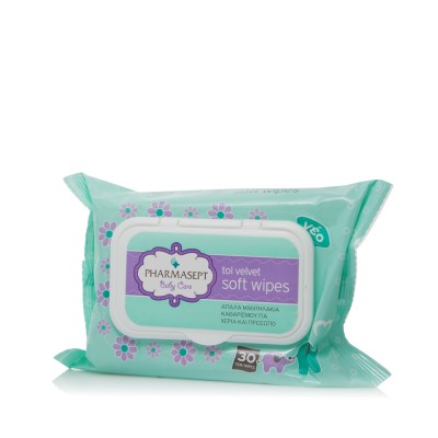 TOL VELVET BABY SOFT WIPES 30 TMX.